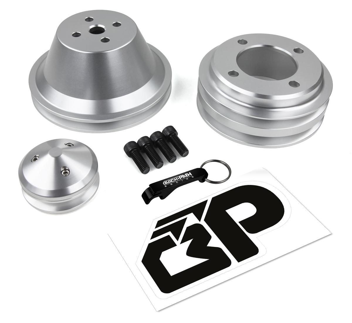 Ford V-Belt Pulley Kit 302 351W 351C 351M 400 Alternator