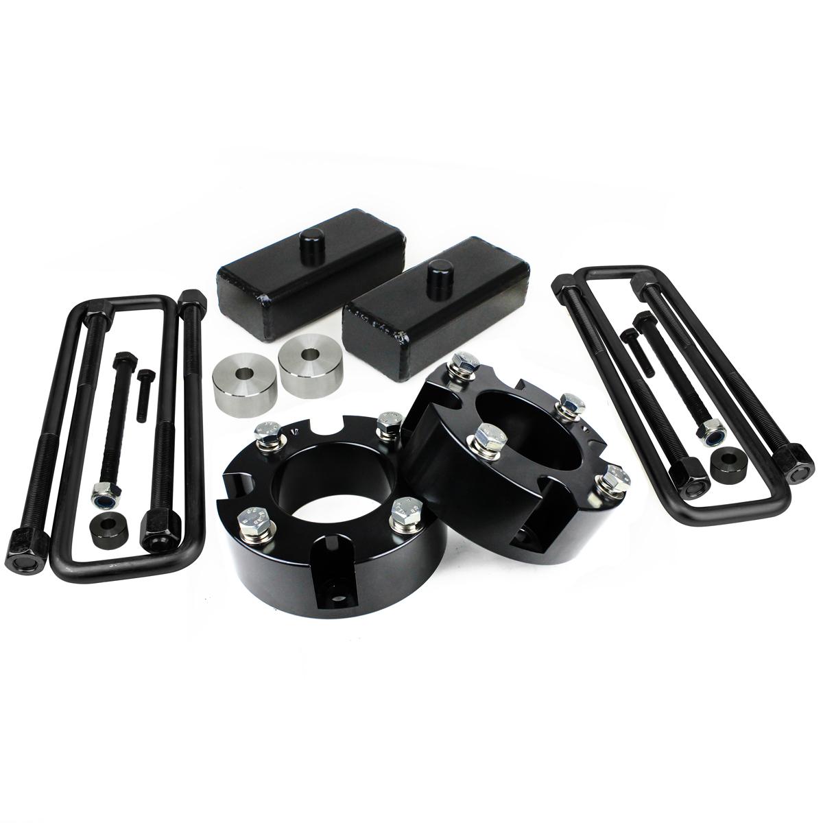 "3/"" Front 1/"" Rear Block Lift Kit for Toyota Tundra 2007-2018"