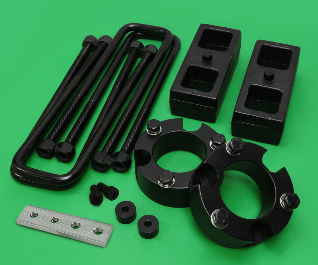 """For 95-04 Toyota Tacoma STEEL 2/"""" Rear Add-a-Leaf Leveling Lift Kit 2WD 4WD 6Lug"""