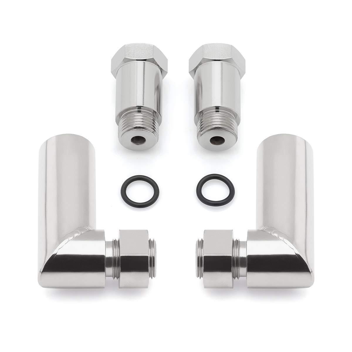 Oxygen Sensor Extender Header Pipe 90 Degree Angle Kit M18 x 1.5 Racing Off-road