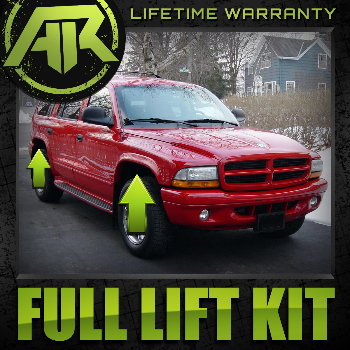 3 Front 2 Rear Shackle Lift Kit For 1998 2003 Dodge Durango 4wd Ebay