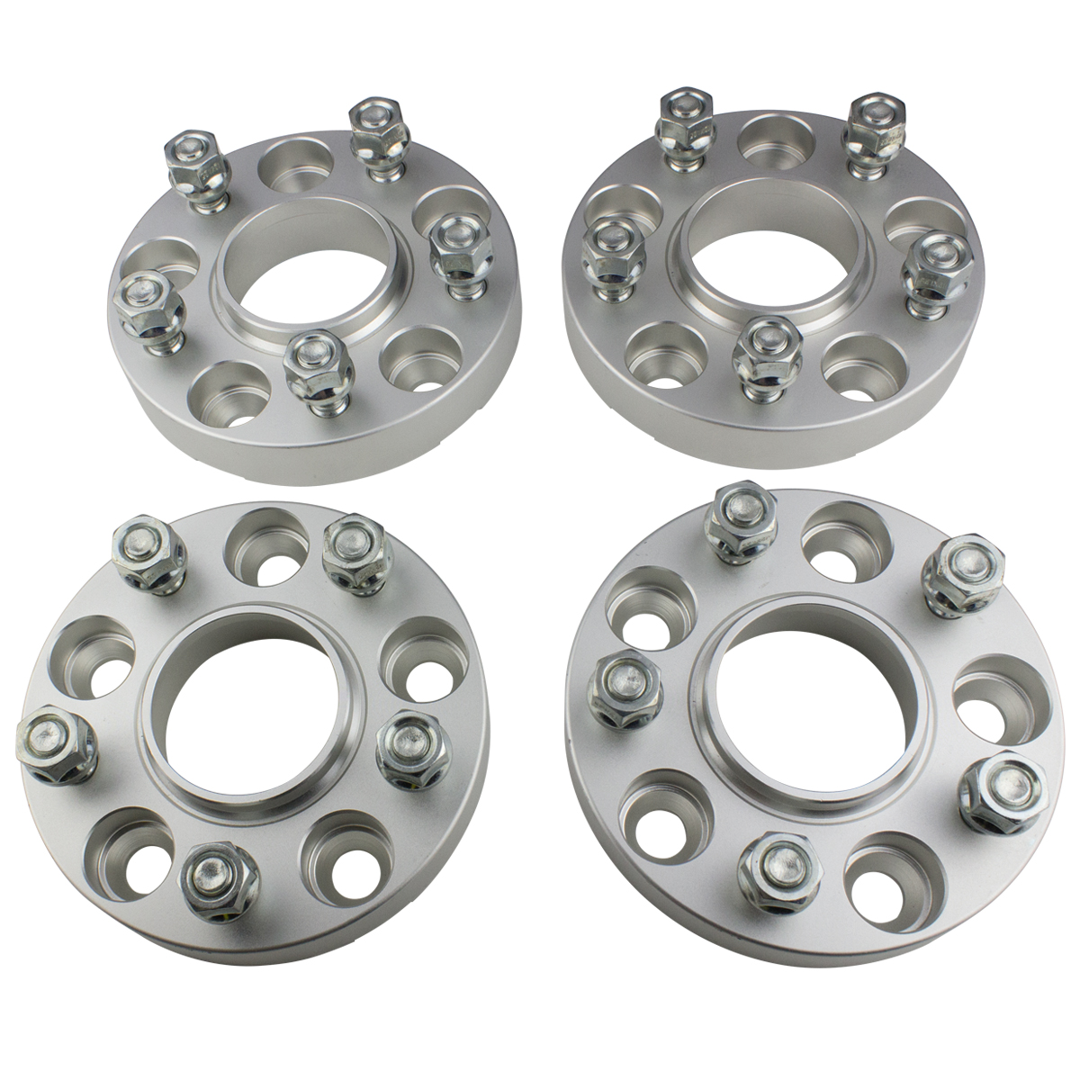 "4 X 1.5"" Billet Wheel Spacers Kit Fits 2002-2011 Dodge Ram"