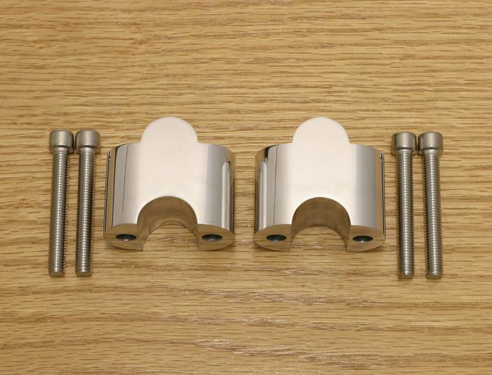 Brand New 15 38mm Handlebar Risers For The Yamaha Royal Star Road All Years Prior To 2005 Will Not Fit Boulevard And Venture