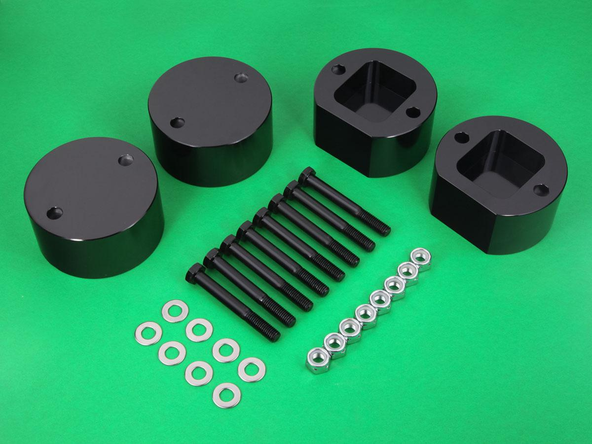 Supreme Suspensions 2.5 Rear Lift Spring Spacers for 1999-2004 Land Rover Discovery II 2WD 4WD 2.5 Front