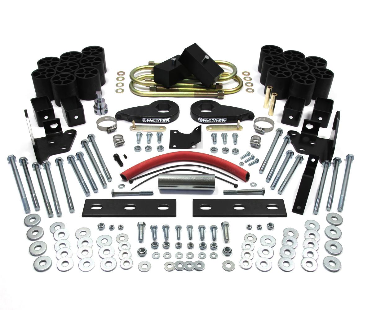 "Ford Lift Kits: 97-02 Ford F150 6"" Front 5"" Rear Leveling Suspension"